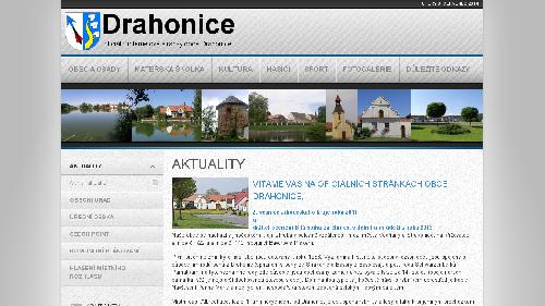 Obec Drahonice