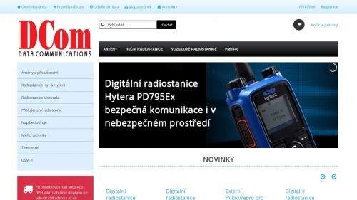 Dcom - WiFi obchod, Joomla 3.x